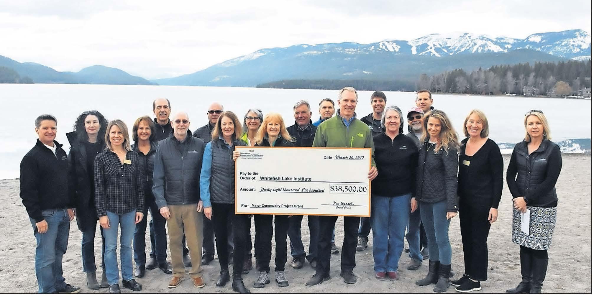 major grant whitefish lake institute