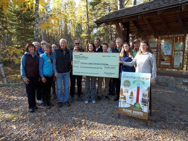 Whitefish Legacy Partners Check